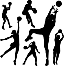 netball-black-and-white